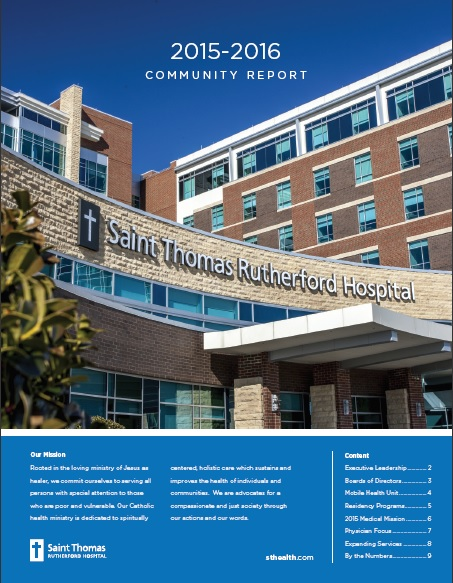 Saint Thomas Rutherford Community Report 2015-2016