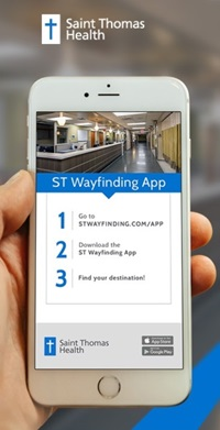 Saint Thomas Midtown OB Services Wayfinding App