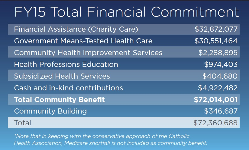 FY15 Total Financial Commitment