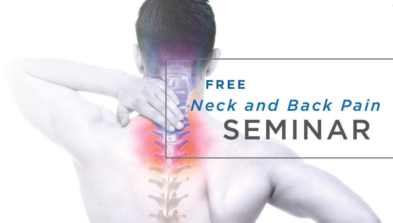 Free Neck and Back Pain Seminar